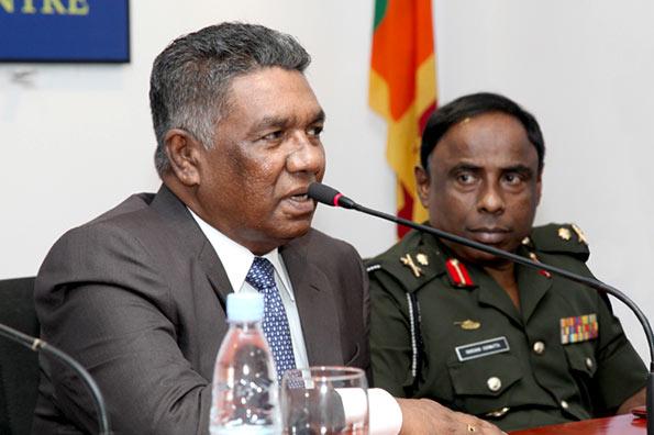 Defence Secretary Karunasena Hettiarachchi