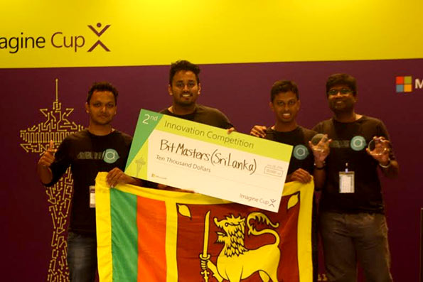 Bit Masters Sri Lanka Team of Moratuwa University
