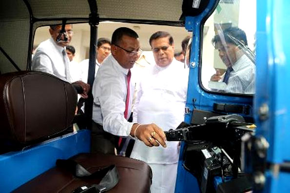 Nimal Siripala three wheelers