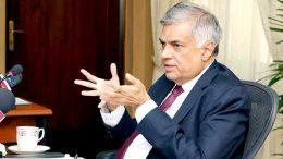 Ranil Wickremasinghe - Prime Minister of Sri Lanka