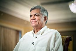Prime Minister of Sri Lanka Ranil Wickremasinghe