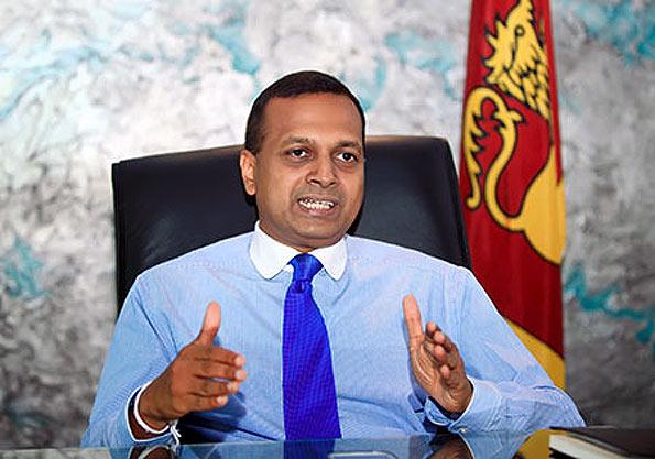 Minister Niroshan Perera