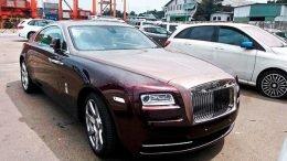 Rolls Royce super luxury car