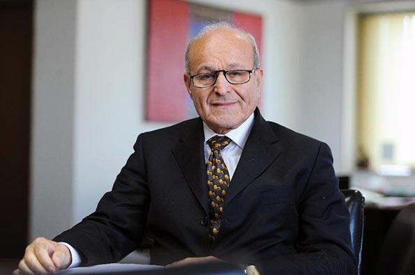 Algerian billionaire Issad Rebrab