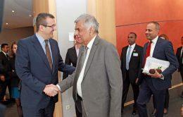 Sri Lanka Prime Minister Ranil Wickremesinghe in Brussels