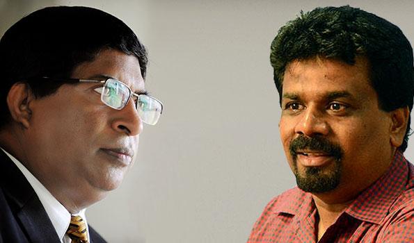 Ravi Karunanayake Vs Anura Kumara Dissanayake