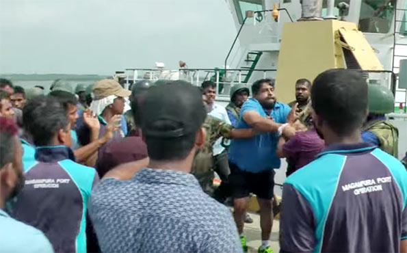Journalist assaulted by Sri Lanka Navy Commander