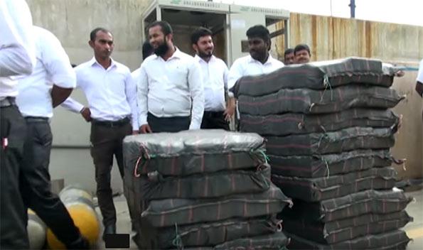 Largest cocaine haul
