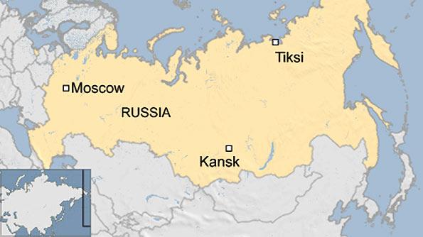 Russian plane crash in Siberia
