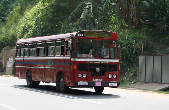 Sri Lanka bus - SLTB
