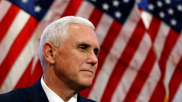 US Vice President-elect Mike Pence