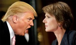 Donald Trump with Sally Yates