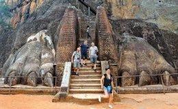 European tourists in Sri Lanka