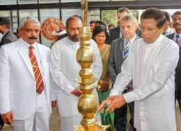 President Maithripala Sirisena at Ananda college - Colombo