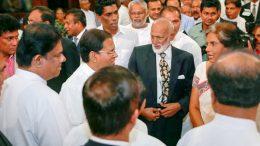 President Maithripala Sirisena with Chandrika Bandaranayake