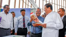 Sri Lanka President Maithripala Sirisena at Green building code and Evaluation system