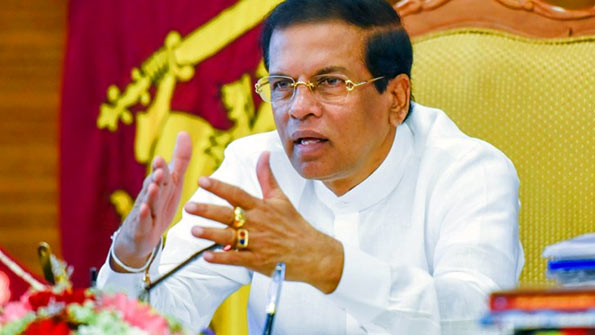 Image result for maithripala sirisena