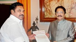 E Palaniswami with C Vidyasagar Rao