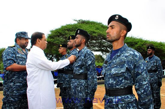 First Navy Marine Corp in Sri Lanka