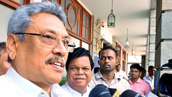 Gotabaya Rajapaksa at FCID
