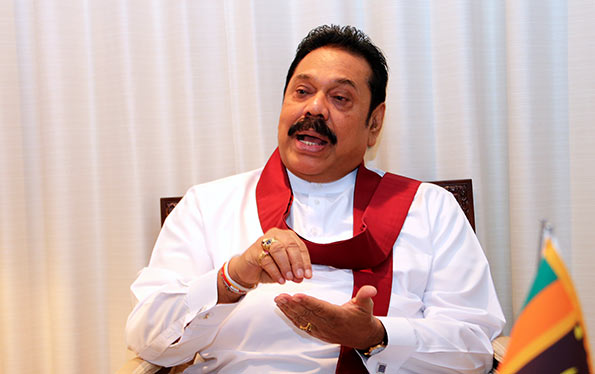 Mahinda Rajapaksa - Former President of Sri Lanka