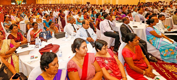People at the ceremony to inaugurate the right to information act