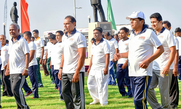 President Maithripala Sirisena on The National Week on Sports and Physical Fitness Promotion