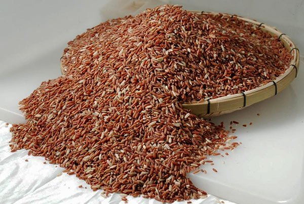 Red rice in Sri Lanka