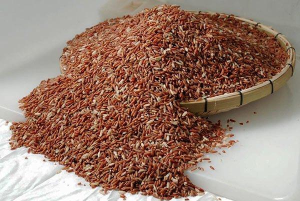 Red rice in Sri Lanka