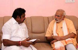 EK Palaniswam met Narendra Modi