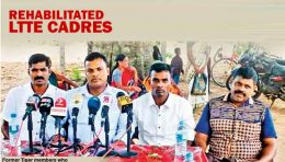 Rehabilitated LTTE Cadres