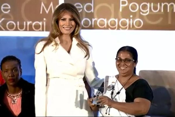 Sandya Eknaligoda - International Women of Courage award