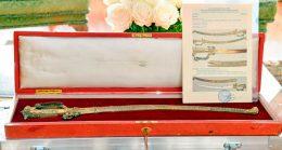 Sword belongs to Kandyan era