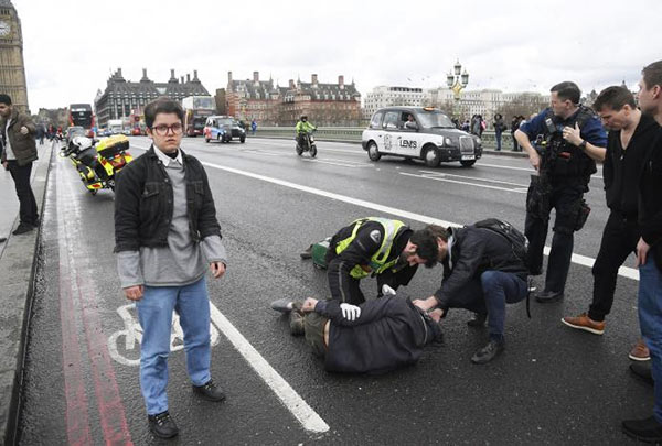 UK Parliament terrorist attack