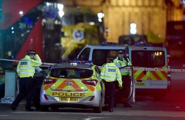 UK Parliament terrorist attack