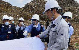 Japanese disaster relief team in Sri Lanka