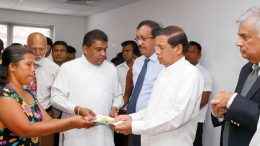 New houses for Meethotamulla victims