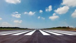 Runway of the Bandaranaike International Airport