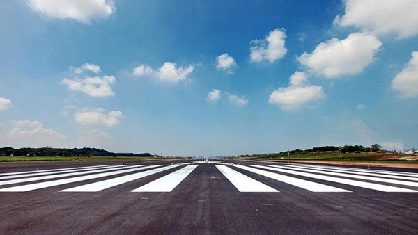 Runway of the Bandaranaike International Airport
