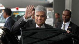 Sri Lankan Prime Minister Ranil Wickremsinghe