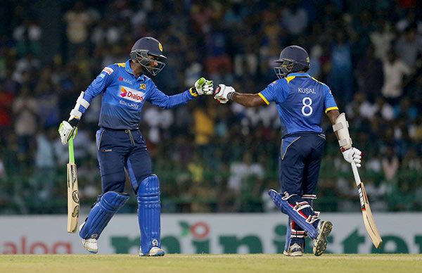 Upul Tharanga and Kusal Perera
