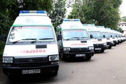 1990 Ambulance in Sri Lanka