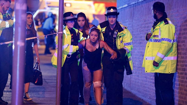 Ariana grande concert attack in Manchester