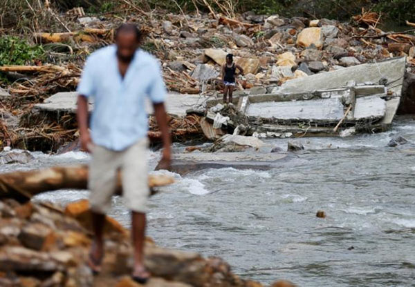 Flood disaster in Sri Lanka