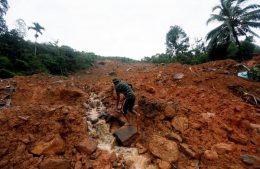 Deaths due to landslides, floods in Sri Lanka