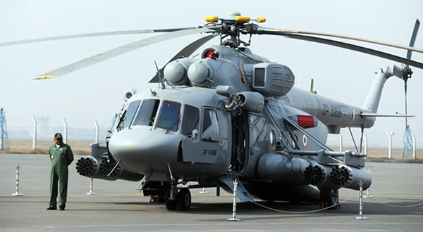 MI 17 helicopter in Indian Air Force