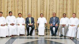 New ministers take oaths in Sri Lanka