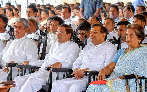 Sarath Fonseka Maithripala Sirisena Rajitha Senaratne Chandrika Bandaranayake