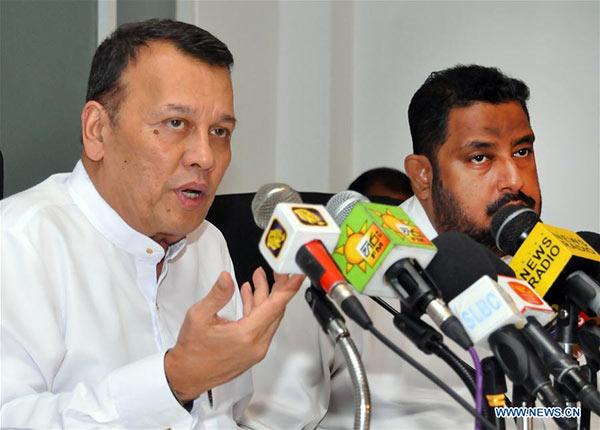 Sri Lanka Minister Mahinda Samarasinghe