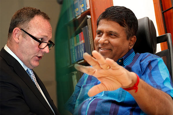 UN Special Rapporteur on Human Rights and Counter Terrorism Ben Emmerson Vs Sri Lanka Minister Wijeyadasa Rajapaksa